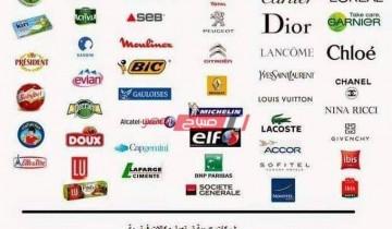 تعرف على قائمة المنتجات الفرنسية في مصر كاملة من مواد غذائية وملابس وعطور ومستحضرات تجميل وأدوية