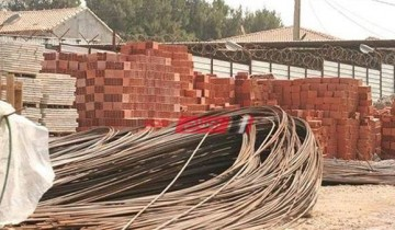 أسعار مواد البناء اليوم الأحد 25-7-2021 في مصر