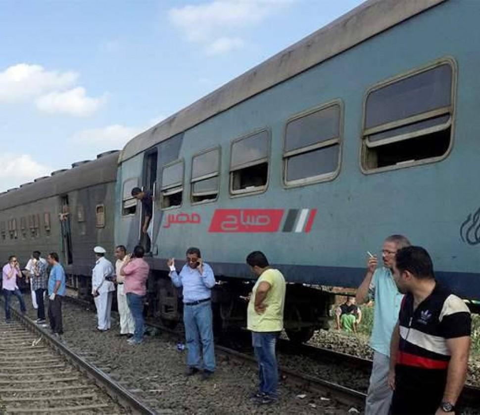 مصرع مواطن دهساً أسفل عجلات القطار فى الشرقية