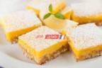طريقه عمل حلوي بارز الليمون بجوز الهند بطعم مميز ولذيذ
