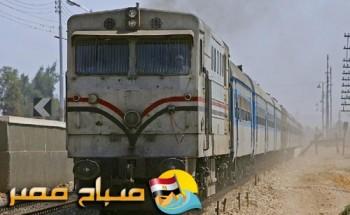 إصابة 4 أشخاص فى حادث تصادم قطار فى محطة مصر بأحد الصدادات بالإسكندرية