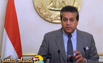 """""""عبد الغفار"""" : إطلاق أول قمر صناعى بمكونات مصرية يوليو المقبل"""