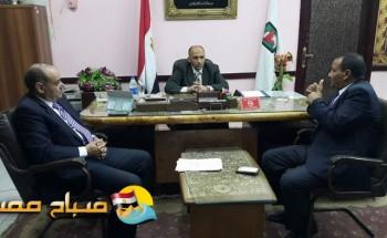 عمرو شحاتة يتسلم عمله وكيلا وزاره التربية والتعليم بسوهاج