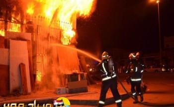 اندلاع حريق فى قسم شرطة جرجا فى سوهاج