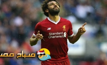 محمد صلاح على دكة البدلاء فى مباراة مصر واليونان