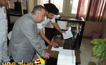 بالصور مدير أمن الاسكندرية يتفقد ادارة شرطة النجدة