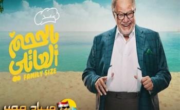 تعرف على مواعيد إذاعة مسلسل بالحجم العائلي على القنوات المصرية والعربية في رمضان