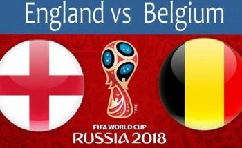 موعد مباراة انجلترا و بلجيكا مونديال روسيا
