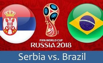 موعد مباراة البرازيل وصربيا مونديال روسيا