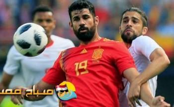موعد مباراة تونس واسبانيا للاستعداد لمونديال روسيا