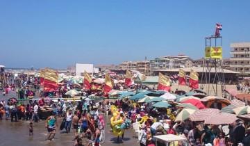 محلية راس البر تحذر الزوار عدم نزول المياه لايقاف خدمات الانقاذ يوم الاثنين المقبل