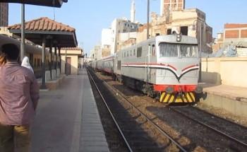 مصرع سيدة مسنة دهسها قطار اثناء ذهابها لصلاة التراويح بدمياط