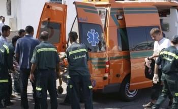 إصابة 7 أشخاص فى حادث انقلاب سيارة بطريق القاهرة- الإسكندرية الصحراوي