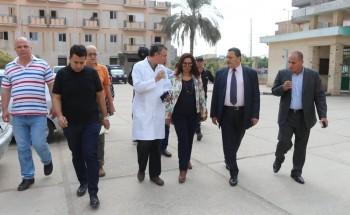 الصحة تدعم مستشفى الزرقا بدمياط بجهاز تحميض ديجيتال