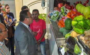 تعرف على أسعار الخضار والفاكهة فى مبادرة اسكندرية تستاهل بالمجمعات الاستهلاكية