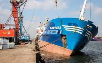 القابضة للنقل البحرى ..توقيع عقد مشروع إنشاء محطة في ميناء دمياط قبل نهاية العام