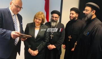 تكريم قنصل مصر العام في مونتريال