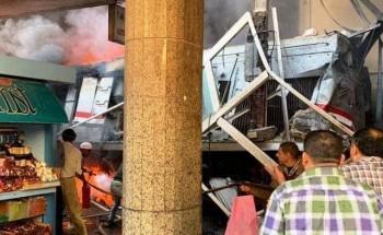 أسماء المصابين فى حادث قطار محطة مصر