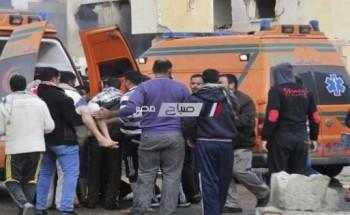 بالأسماء.. إصابة 15 عامل فى حادث انقلاب سيارة بالساحل الشمالى