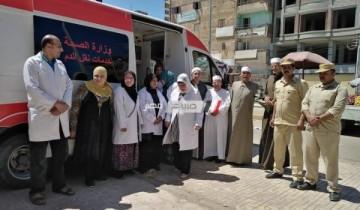 الأوقاف تنظم حملة للتبرع بالدم بعد صلاة الجمعة بمسجد المشروع بالضهره بدمياط