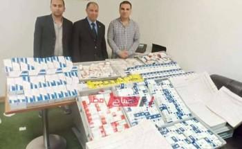 ضبط 7408 عبوة أدوية لعلاج الصرع قبل تهريبها في مطار برج العرب