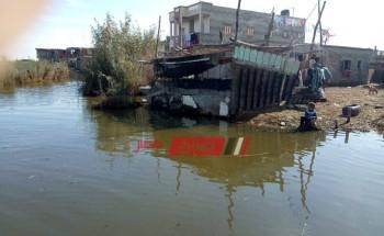 لا ماء ولا كهرباء .. جزيرة العزبي بدمياط خارج حسابات الحكومة…. فيديو