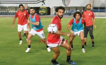 منتخب مصر يطير لتوجو اليوم بطائرة خاصة