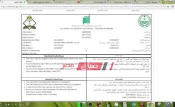 """""""وزارة الداخلية"""" إلغاء تأشيرة الخروج والعودة والشروط التي وضعتها منصة أبشر"""