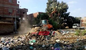 رئيس محلية كفر سعد في دمياط يشدد على شن حملات النظافة وصيانة أعمدة الإنارة بشكل مستمر