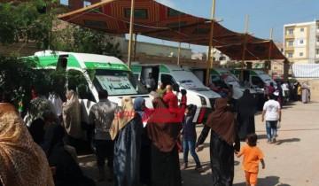 فحص 1350 مواطن وعلاج 16 على نفقة الدولة خلال قافلة طبية مجانية بدمياط