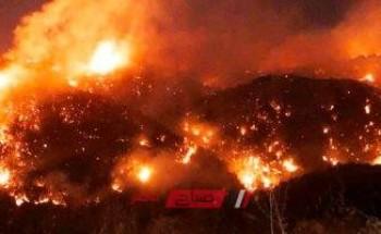 الدفاع المدني يكشف استمرار خطر حرائق لبنان وعدم التمكن من السيطرة على النيران