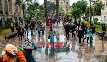 طقس غداً الجمعة وتوقعات درجات الحرارة وتساقط الأمطار علي جميع المحافظات