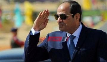 الرئيس السيسي يصل أرض الكويت لتقديم العزاء في الأمير صباح