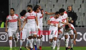 نتيجة مباراة الزمالك ونادي مصر اليوم الدوري المصري