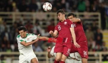 كأس الخليج العربي نتيجة مباراة قطر والعراق