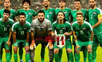 ملخص ونتيجة مباراة العراق وأوزبكستان الودية
