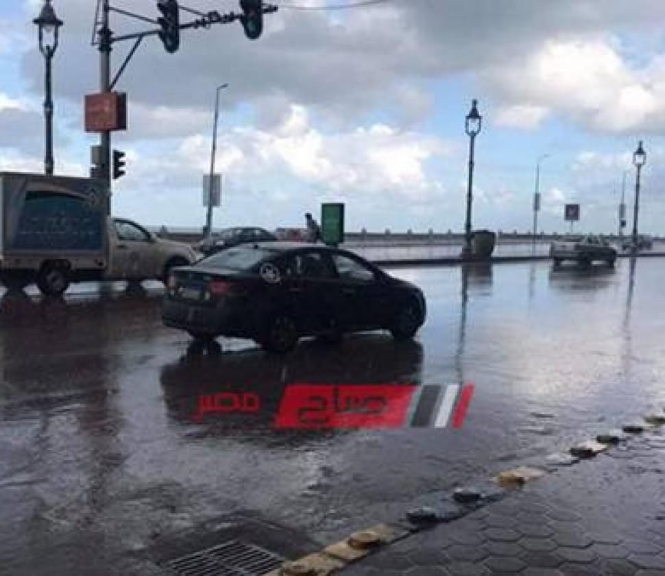 الطقس في الإسكندرية الآن: رياح نشطة وطقس بارد علي جميع الأنحاء