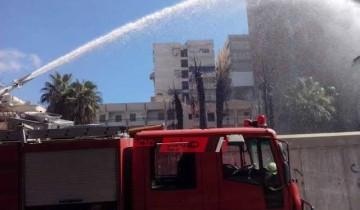 السيطرة على حريق في بوص جنوب بني سويف