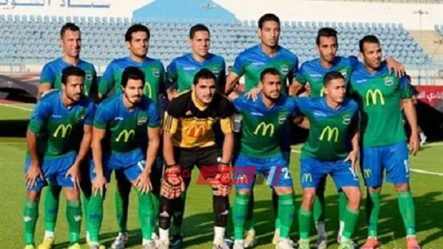نتيجة مباراة مصر المقاصة والانتاج الحربي الدوري المصري