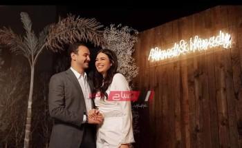 هنادي مهني تحسم الجدل حول حضور مطربي المهرجانات حفل زفافها