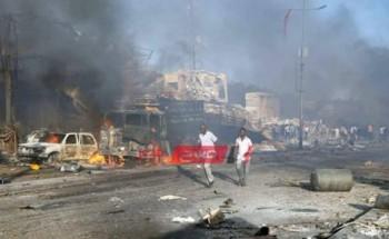 مصرع 50 شخصاً في حادث تفجير عنيف يضرب العاصمة الصومالية مقديشو منذ قليل