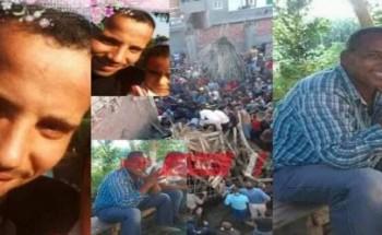 فيديو يرصد لحظة انتشال جثث ضحايا سقوط سقف مسجد الرحمانية في محافظة البحيرة