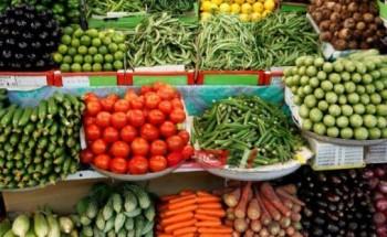 تراجع أسعار البامية والليمون البلدي في سوق العبور اليوم