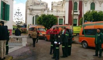 إصابة 6 طالبات بالتسمم بعد أداء امتحان الشهادة الإعدادية في الإسكندرية