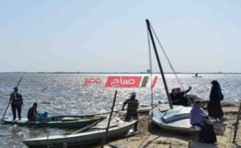 عودة حركة الصيد لطبيعتها بعد تحسن الحالة الجوية في دمياط