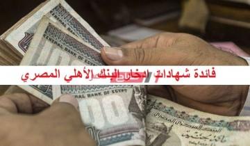 بعد التخفيض تعرف على أسعار فائدة شهادات ادخار البنك الأهلي المصري 2020