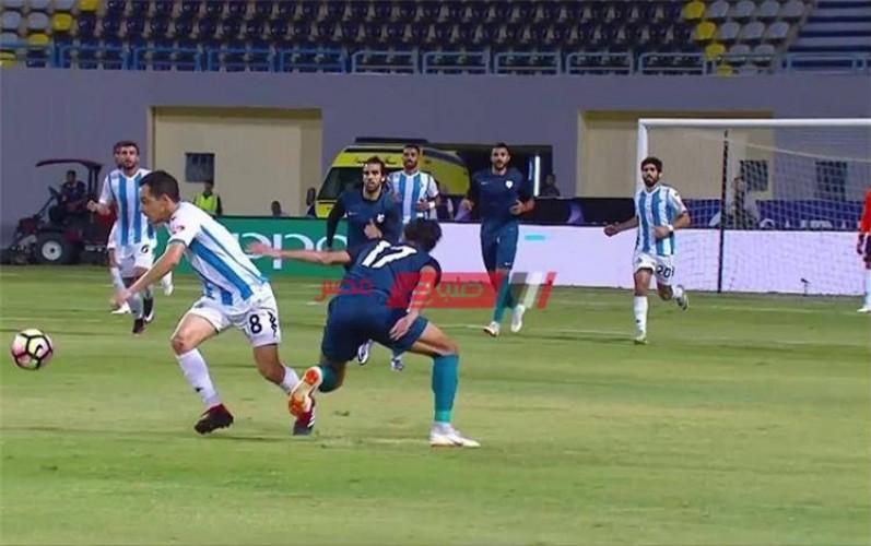 نتيجة مباراة بيراميدز وإنبي في الدوري المصري الممتاز