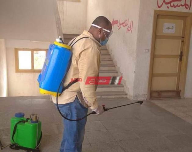 تطهير المعاهد الأزهرية في محافظة الإسكندرية لمنع انتشار فيروس كورونا – صور