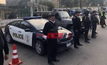 بدء حظر التجوال لليوم الثاني وانتشار أمني مكثف في شوارع الجمهورية