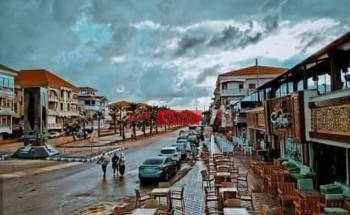 موجة من الأمطار الغزيرة تضرب دمياط يوم الأربعاء القادم وتوقعات باضطرابات جوية